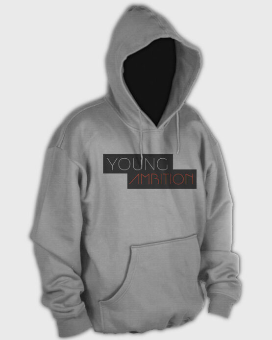 Young Ambition Hoodie Light Grey