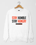 Stay Humble SShirt White