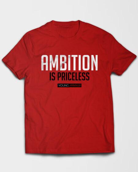 ambition-priceless-red-t
