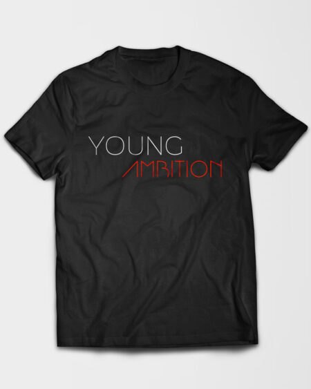 Young Ambition Tshirt Black