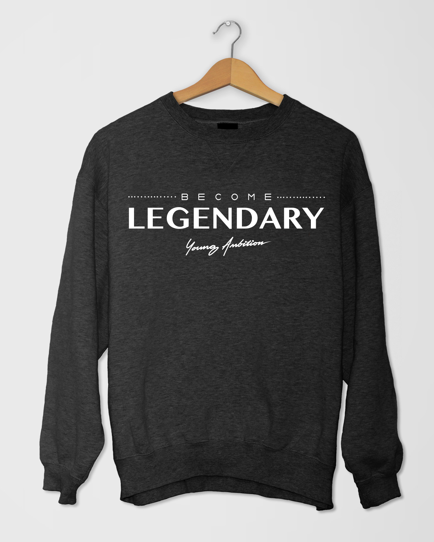 Become Legendary SShirt Black