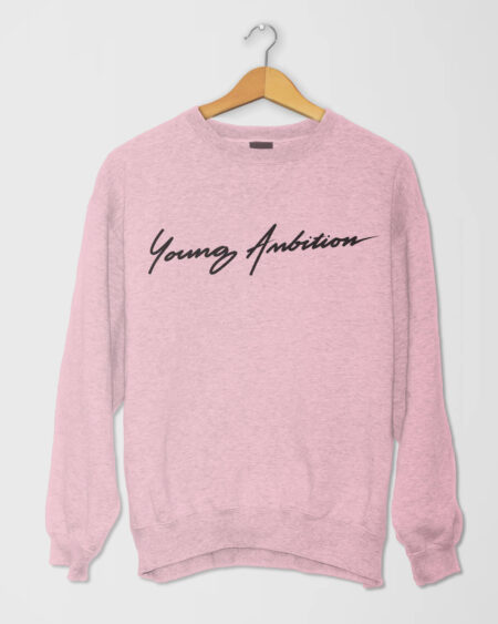 Cursive Young Ambitions Fleece