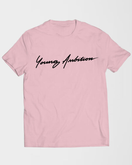 Cursive Young Ambition T-Shirt