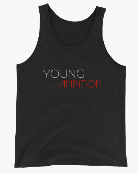 Young Ambition Men Tank Top Black