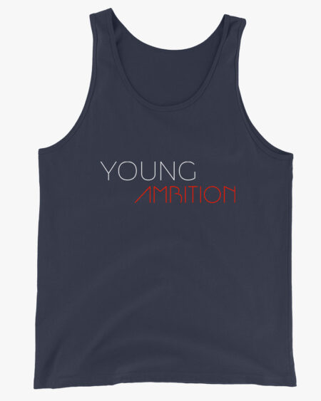 Young Ambition Men Tank Top Navy