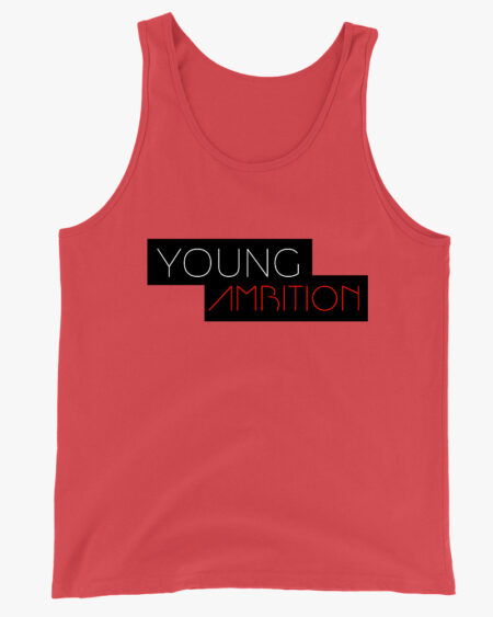 Young Ambition Men Tank Top Red