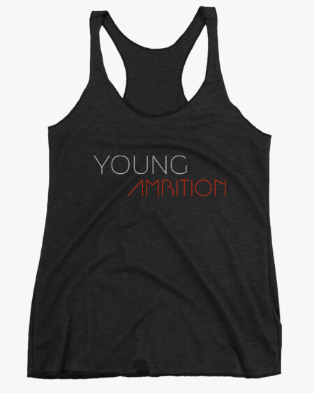 Young Ambition Women Tank Top Black
