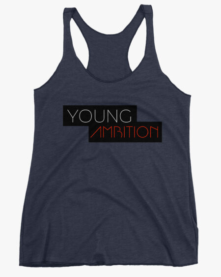 Young Ambition Women Tank Top Navy