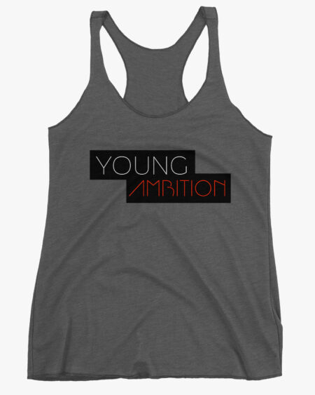 Young Ambition Women Tank Top Grey