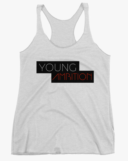 Young Ambition Women Tank Top White