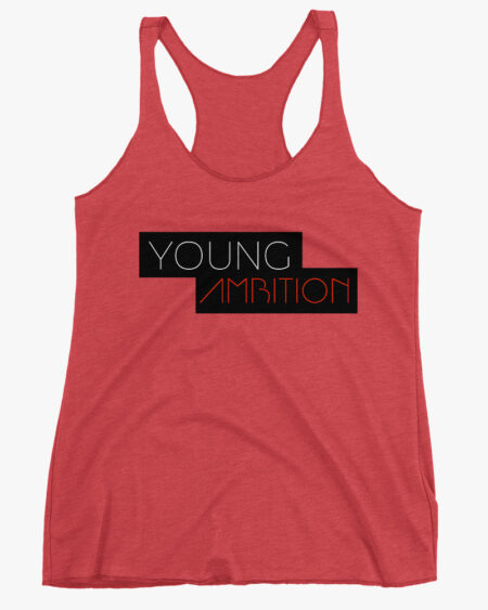 Young Ambition Women Tank Top Red