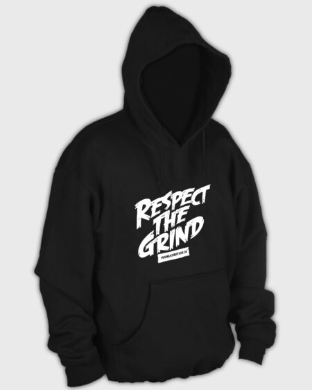 Respect The Grind Hoodie Black