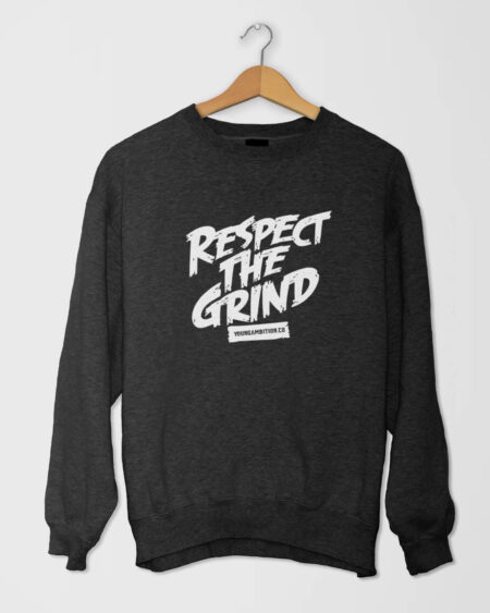 Respect The Grind SShirt Black