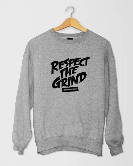 Respect The Grind SShirt Grey