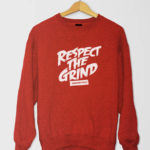 Respect The Grind SShirt Red
