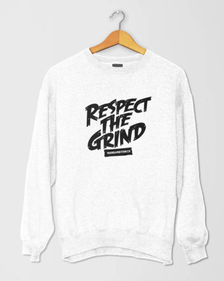Respect The Grind SShirt White