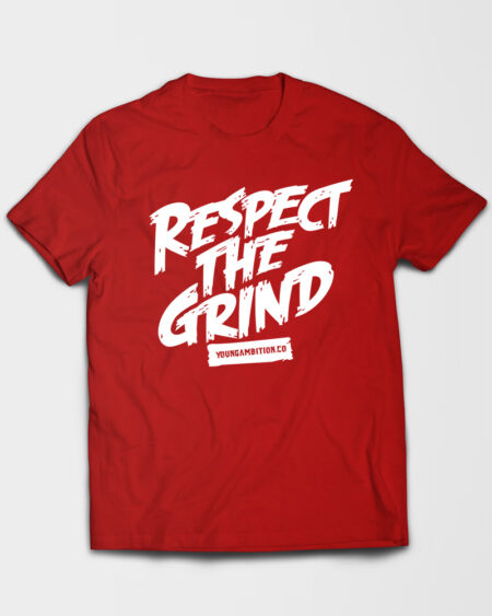 Respect The Grind Tshirt Red