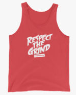 Respect The Grind Men Tank Top Red
