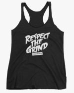 Respect The Grind Women Tank Top Black