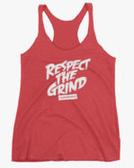Respect The Grind Women Tank Top Red
