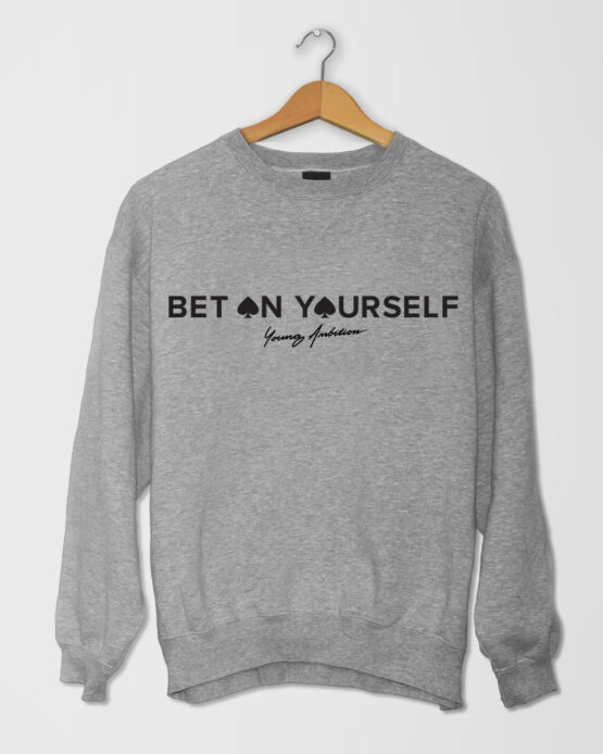 Bet On Yourself SShirt Light Grey