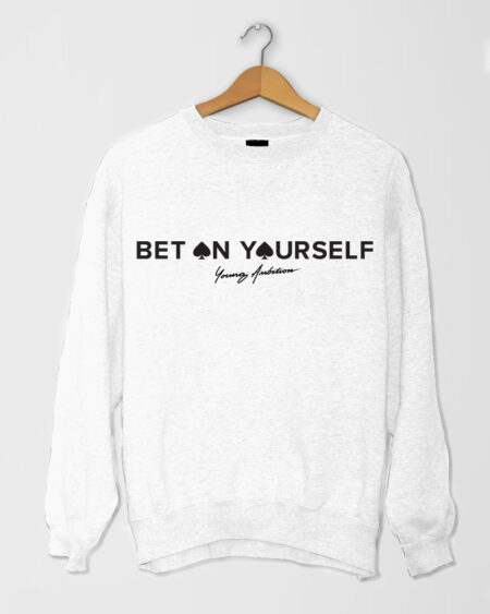 Bet On Yourself SShirt White