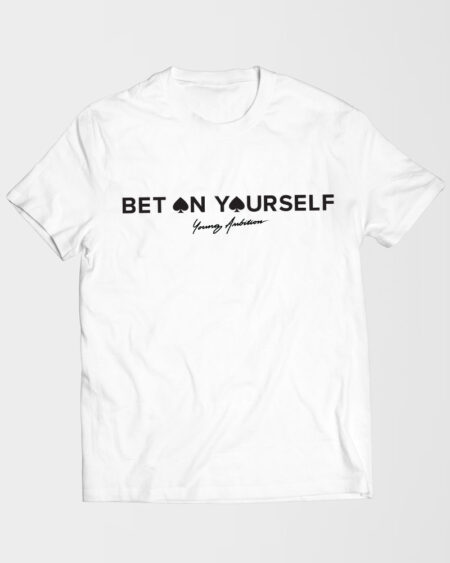 Bet On Yourself Shirt White