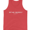 Bet On Yourself Men Tank Top Red