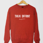 Thnk Dffrnt SShirt Red