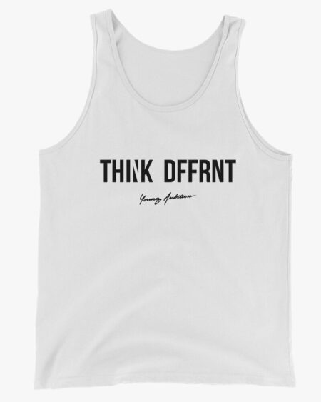 Thnk Dffrnt Men Tank Top White