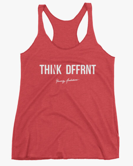 Thnk Dffrnt Women Tank Top Red