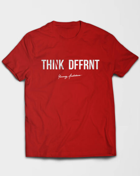 Thnk Dffrnt Tshirt Red