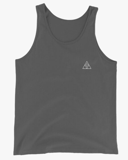 YA Trigon Men Tank Top Gray