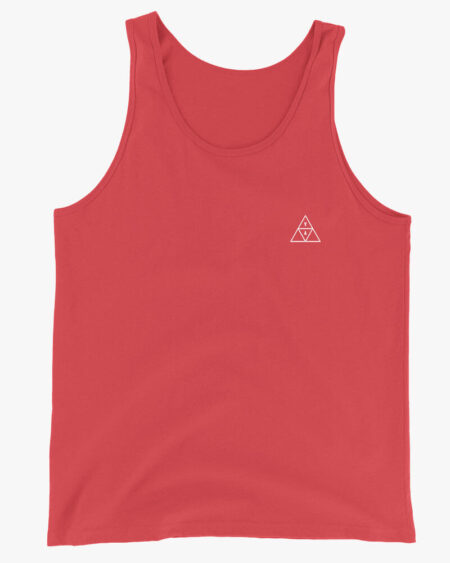 YA Trigon Men Tank Top Red