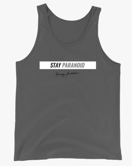 Stay Paranoid v2 Men Tank Top