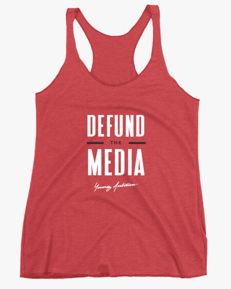 Defund the Media Women Tank Top